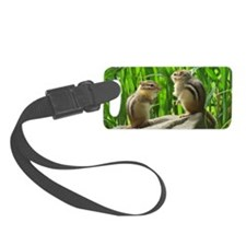 Two Chipmunks Luggage Tag