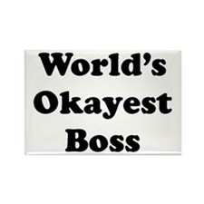 World's Okayest Boss Magnets