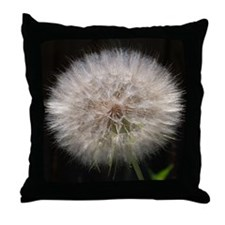 Wishing Flower Throw Pillow