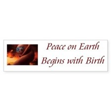 Peace on Earth Bumper Bumper Sticker