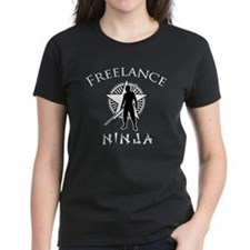 Women's Dark Freelance Ninja T-Shirt