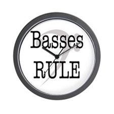 Basses Rule Wall Clock
