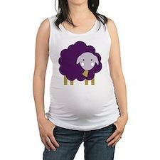 Cute Sheep Maternity Tank Top