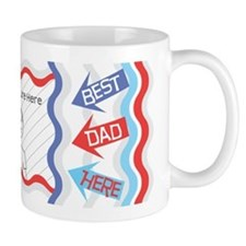 Customize Photo Best Dad Mug