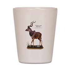 Greater Kudu Shot Glass