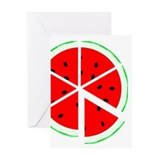 Mouthwatering Watermelon Greeting Card