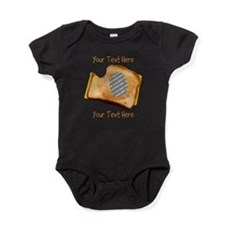 YOUR FACE Grilled Cheese Sandwich Baby Bodysuit