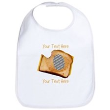 YOUR FACE Grilled Cheese Sandwich Bib