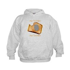 YOUR FACE Grilled Cheese Sandwich Hoodie