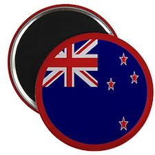 """New Zealand Flag"" Magnet"
