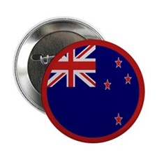 """""""New Zealand Flag"""" 2.25"""" Button (10 pack)"""