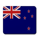 &quot;New Zealand Flag&quot; Mousepad