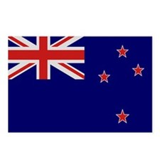 """New Zealand Flag"" Postcards (Package of 8)"