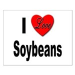 I Love Soybeans Small Poster