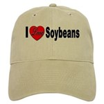 I Love Soybeans Cap