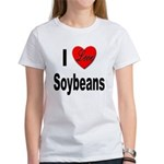 I Love Soybeans (Front) Women's T-Shirt