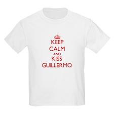 Keep Calm and Kiss Guillermo T-Shirt