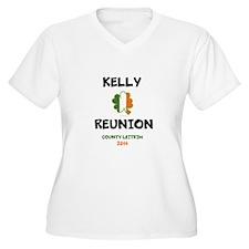 Kelly Reunion tshirt 3 Plus Size T-Shirt