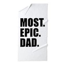 Most Epic Dad Beach Towel