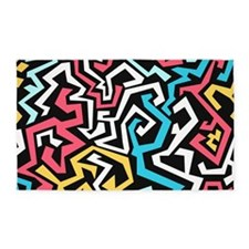 Graffiti 3'x5' Area Rug