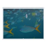 Fish Photo Wall Calendar