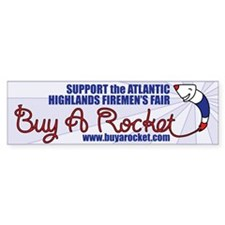 Buy A Rocket Bumper Bumper Sticker