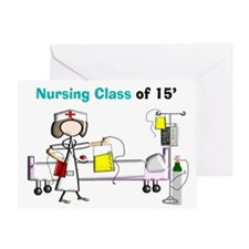 Nursing Class of 15 A Greeting Cards