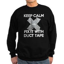 duct tape-wh Sweatshirt