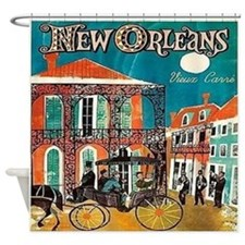 Vieux Carre Shower Curtain