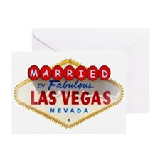 Married In Fabulous Las Vegas Cards Pk of 10