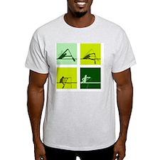 dragon boat paddling step by step T-Shirt