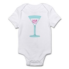 Dentures False Teeth Martini Infant Bodysuit