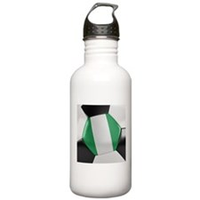 Nigeria Soccer Ball Water Bottle