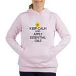 Keep Calm and Apply Esse Women's Hooded Sweatshirt