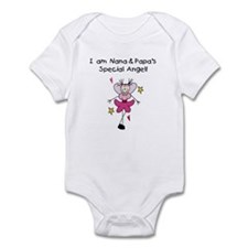 Nana and Papa's Angel Onesie