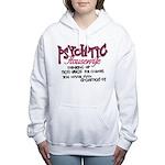 Psychotic Housewife Women's Hooded Sweatshirt