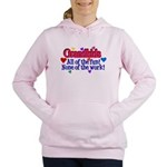 Grandkids - All the fun! Women's Hooded Sweatshirt