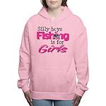 silly boys2.png Women's Hooded Sweatshirt
