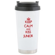 Keep Calm and Kiss Junior Travel Mug