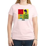 SR&S POP ART Women's Pink T-Shirt