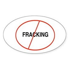 Cool Anti fracking Decal