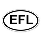EFL Oval Decal