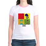 SR&S POP ART Ringer T-shirt