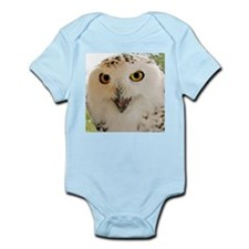 Snowy Owl Close-Up Body Suit