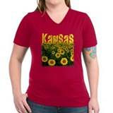 Kansas Sunflower Field Shirt
