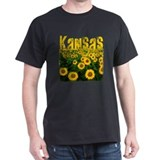 Kansas Sunflower Field T-Shirt