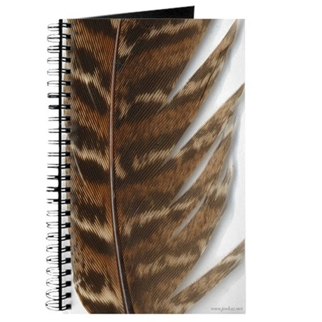 Pheasant Feather Journal 2