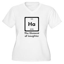 Ha Element Of Laughter Plus Size T-Shirt