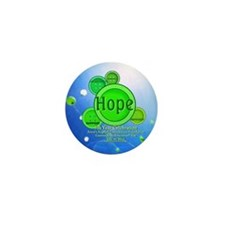 Gastroschisis awareness ribbon Mini Button (100 pack)