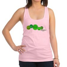 Funny Gastroschisis awareness ribbon Racerback Tank Top